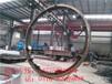 山东1.8米滚筒zg35crmo烘干机大齿圈烘干机轮带价格