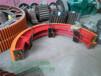 zg42crmo铸件正火回火复合肥滚筒烘干机大小齿轮免费设计
