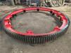 熱處理HB170-195烘干機大齒輪滾輪