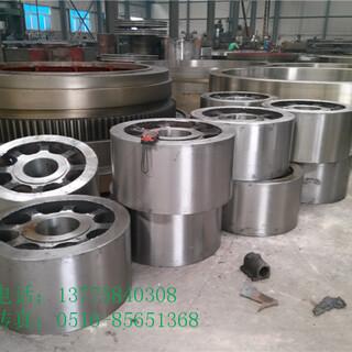 广西2.5x45米铸钢回转窑轮带促销优惠图片2