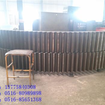广西2.5x45米铸钢回转窑轮带销量遥遥领先