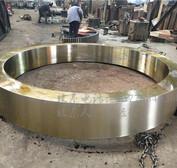 山东Φ3x45米zg35crmo回转窑轮带质量过硬好信誉好的厂家