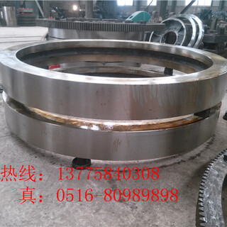 广西2.5x45米铸钢回转窑轮带促销优惠图片5