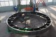 广西2.5x45米铸钢回转窑轮带