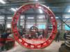 河南焚烧托轮zg35crmo回转窑轮带生产厂家货源