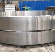 为湖南客户定制2.4米铸钢HB硬度190-200回转窑轮带