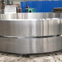 空心箱型铸钢回转窑轮带实心矩形回转窑轮带厂家图片