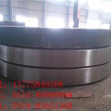 定制Φ1.2-4.0米铸钢斜面回转窑轮带直面回转窑轮带图片