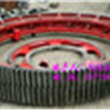 现货供应140齿20模1.8米滚筒烘干机大齿轮配件图片
