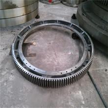 16模數鑄鋼轉鼓造粒機大齒輪托輪總成生產廠家圖片