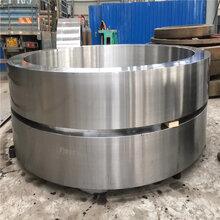 3.5米x50米28M192z鑄鋼45#回轉窯大齒圈圖片