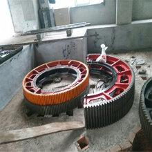 两瓣螺栓把合式耐磨损的球磨机大齿轮