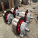 云南2.0米600鑄鋼烘干機托輪三筒烘干機托輪設計定制
