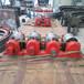 2.0米陶粒巖滾筒烘干機拖輪回轉爐托輪生產銷售