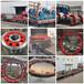 2.5米轉軸式滾筒烘干機拖輪干燥機跑輪設計定制