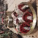 上海1.8米沙子烘干回轉爐托輪三筒烘干機托輪定制廠家