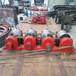 45號鋼硬度高的活性炭轉爐拖輪烘干機輪帶設計定制