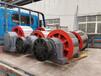 福建1.8米鑄造帶筋板式臥式滾筒烘干機托輪烘干機滾輪生產銷售