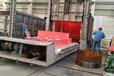 云南單筒冷卻機輪帶冷卻機托輪測量設計