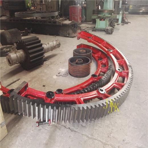 泰州弹簧板结构粉煤灰烘干机大齿轮烘干窑大齿圈加工销售定制
