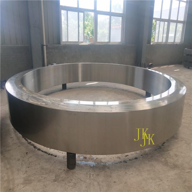 武汉142齿22模铸钢烘干机大齿轮回转窑大齿圈设计测量加工
