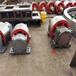 600mm外徑加強筋式干燥機轉爐托輪回轉爐擋輪生產銷售