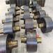 昆明500鑄鋼轉軸式干燥機轉爐托輪對開式大齒輪免費設計