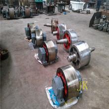 江蘇1.8米鋼質轉軸式烘干機拖輪分體大齒輪現貨供應圖片