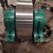 鋼件550的中型干燥機轉爐托輪烘干機托輪批發零售