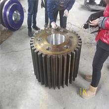 廣西M22Z23球磨機小齒輪調質鍛件球磨機小齒輪總成安裝維護圖片