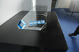 全息顯示屏,深圳供應全息玻璃原片,半反半透玻璃,數字科技館玻璃柜