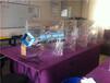 深圳半透半反玻璃厂家3D投影金字塔促销超白全息玻璃采购