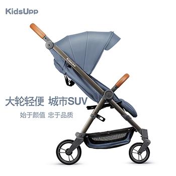 KidsUpp婴儿推车轻便折叠可坐可躺便携式四轮避震宝宝伞车手推车