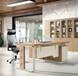 实木办公桌与板式班台的材质怎么区分
