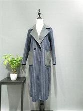 黄金貂绒大衣,带内衬加厚,时尚冬装清货