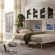广州书柜组合隐形床多功能定制家具