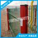 休闲度假村山庄围栏网广西桃型柱护栏网玉林绿色防护铁丝网