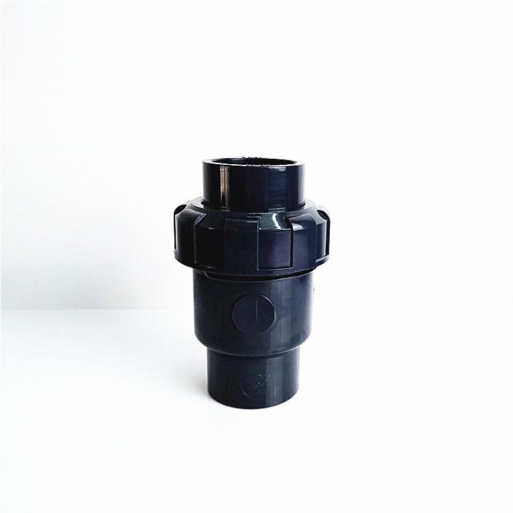 南亚PVC-U单向逆止阀UPVC单由令止回阀PVC止回阀