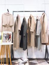 品牌折扣女装杭州一线高端品牌优洛可冬装超值比例超低价出货