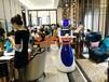 点餐、送餐、买单一体美女餐厅机器人厂家直销