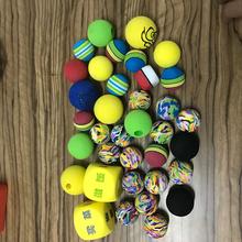 厂家低价直销彩色EVA材质海绵实心子弹球儿童玩具EVA海绵球图片
