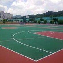 大港硅pu篮球场施工建设东丽塑胶篮球场施工