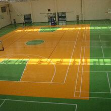 东城PVC羽毛球地板建设