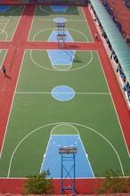 宝坻丙烯酸篮球场地北辰硬地丙烯酸篮球场地