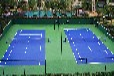 吉林硅PU网球场材料吉林硅PU网球场施工