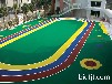 四平EPDM幼儿园安全地板建设