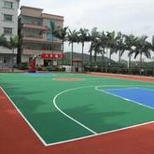 黑河硅PU篮球场建设单位