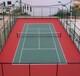黑河硅PU网球场施工建设