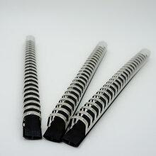 厂家新款直销二十六孔孔夹塑料孔夹收纳装订文件铁皮夹具图片