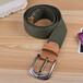 皮帶生產廠家_編織帶織帶彈力帶腰帶_新款織帶腰帶